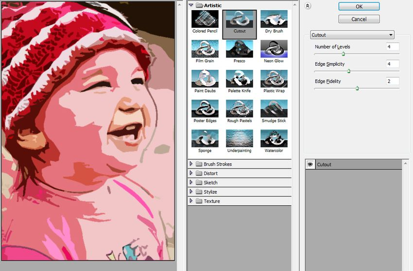 Tutorial about How to turning photo into cartoon effect with