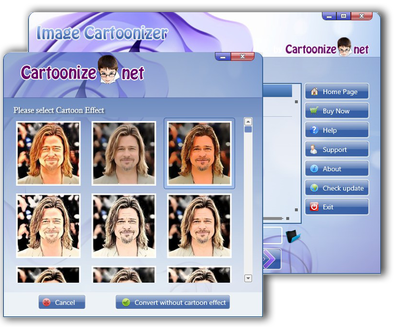 Image Cartoonizer full screenshot