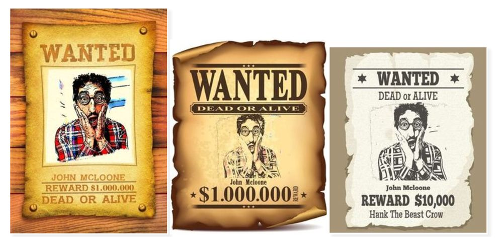 Wanted Poster Online